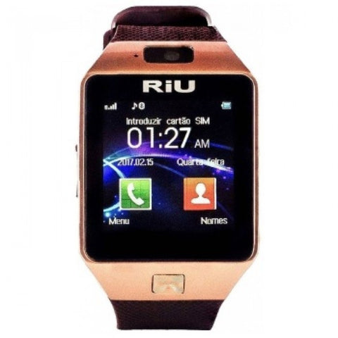 RIU R-160 SMART WATCH - GOLD
