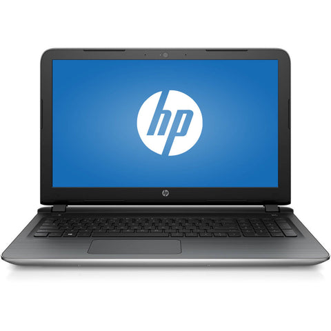 "HP Natural Silver 15.6"" Pavilion 15-AB273CA Laptop PC with Intel Core i7-6500U Dual-Core Processor, 12GB Memory, 1TB Hard Drive and Windows 10 Home"