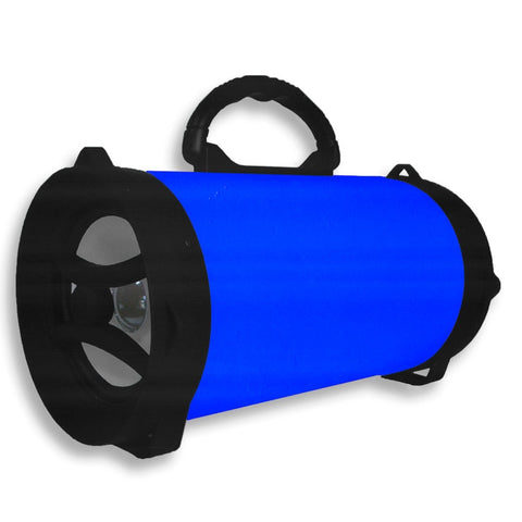 QFX BT-158-BLU BAZOOKA BLUETOOTH SPEAKER - BLUE