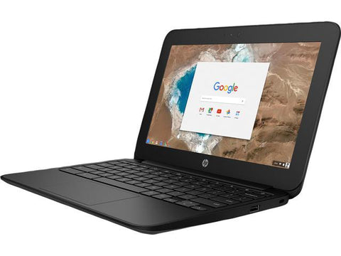 "HP 1FX82UT#ABA 11.6"" CHROMEBOOK 11G5 BLACK EDUCATION EDITION, INTEL CELERON N3060 DUAL CORE, 1.6 GHZ, 4GB RAM, 16GB EMMC"