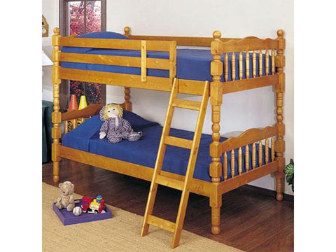 Acme Furniture Youth Homestead Twin over Twin Bunk Bed 02301