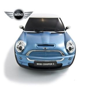 "10.4"" 1:14 MINICOOPERS Blue R/C Radio Control Car MC14B"