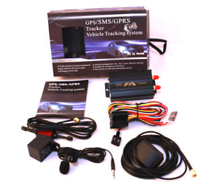 INTELLIGENT TK103A VEHICLE GPS TRACKER