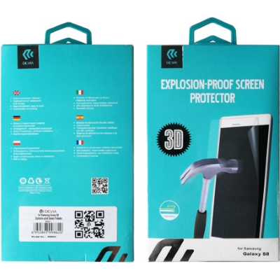 Samsung Galaxy S9 Plus - Devia Explosion-Proof Screen Protector
