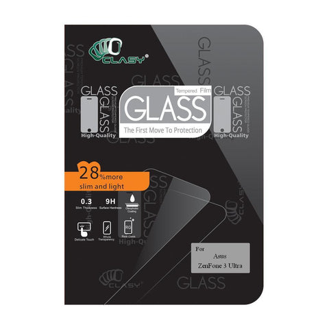 CLASY® Premium Tempered GLass - Asus ZenFone 3 Ultra