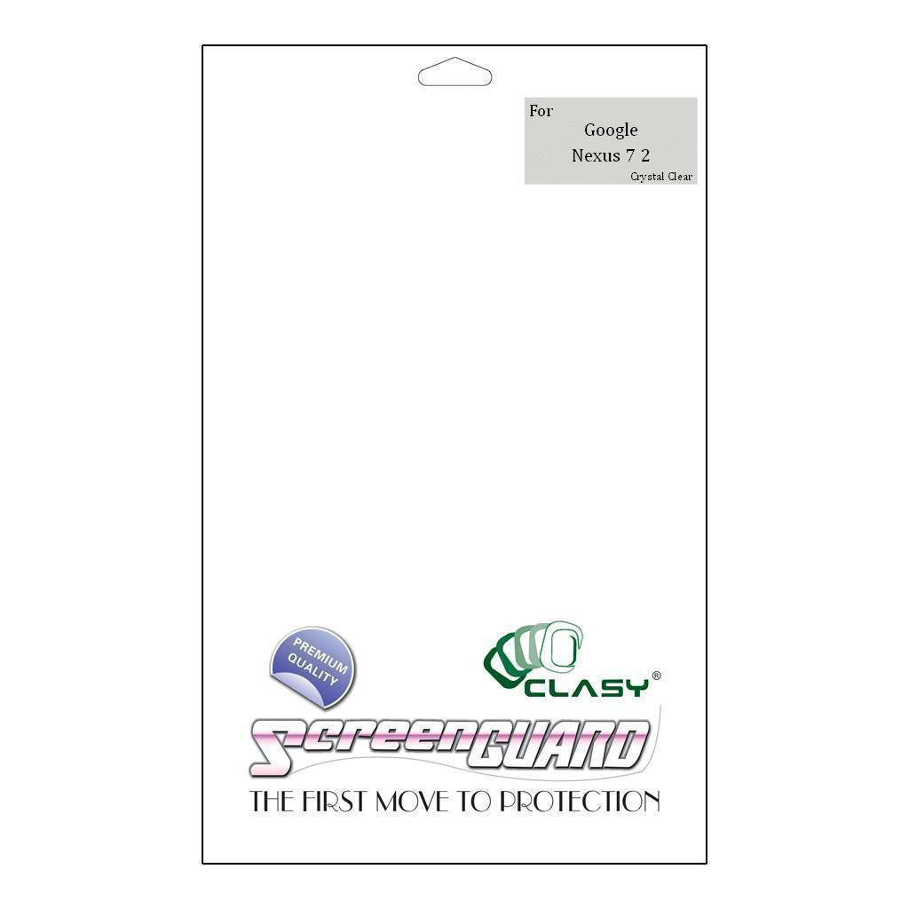 CLASY® Premium Screen Guard - Google Nexus 7 2