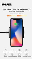 M.A.D.E M1 QC3.0 QC2.0 Wireless Fast Charger