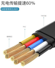 Baseus USB Cable - Tough Series Type-C to iP Cable 18W Quick Charge 200cm CAZYSC-B01