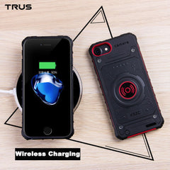 Apple iPhone 7 Plus / 8 Plus - Three Proofings Military And Three Wireless Charging Back Clips 3350mAh