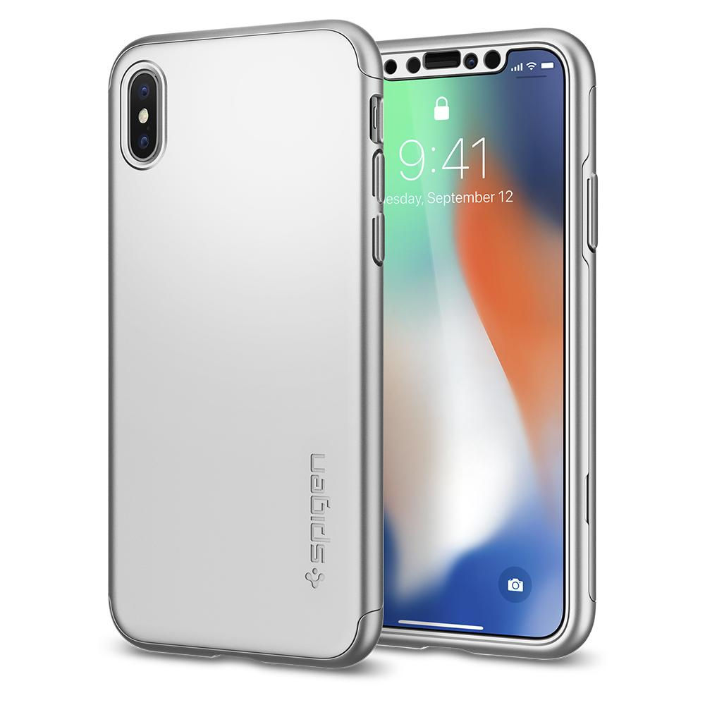 Apple iPhone X - Spigen Thin Fit 360