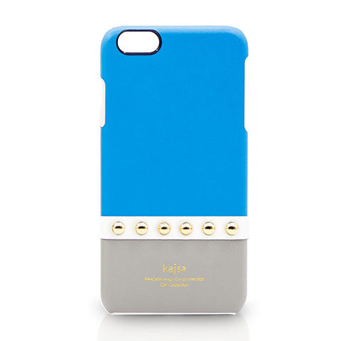 Apple iPhone 6 / 6S - Kajsa Gilt Collection Gold Stud Pastel