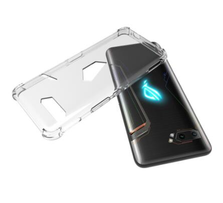 Asus Rog Phone 2 - CLASY® Flexible Crystal Clear Silicon Gel Phone Case