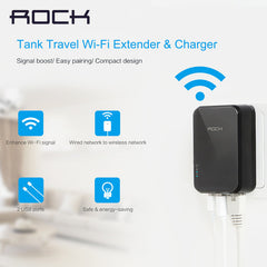 Rock Wifi Repeater With Charger - Tank Travel