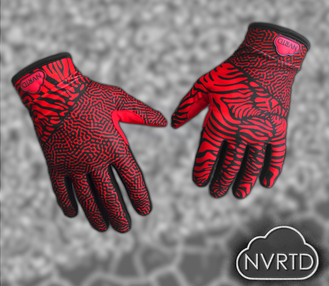 3.0 Zebraic Red Glove