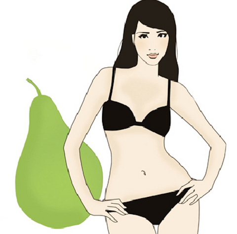 Pear Shaped Women's Body