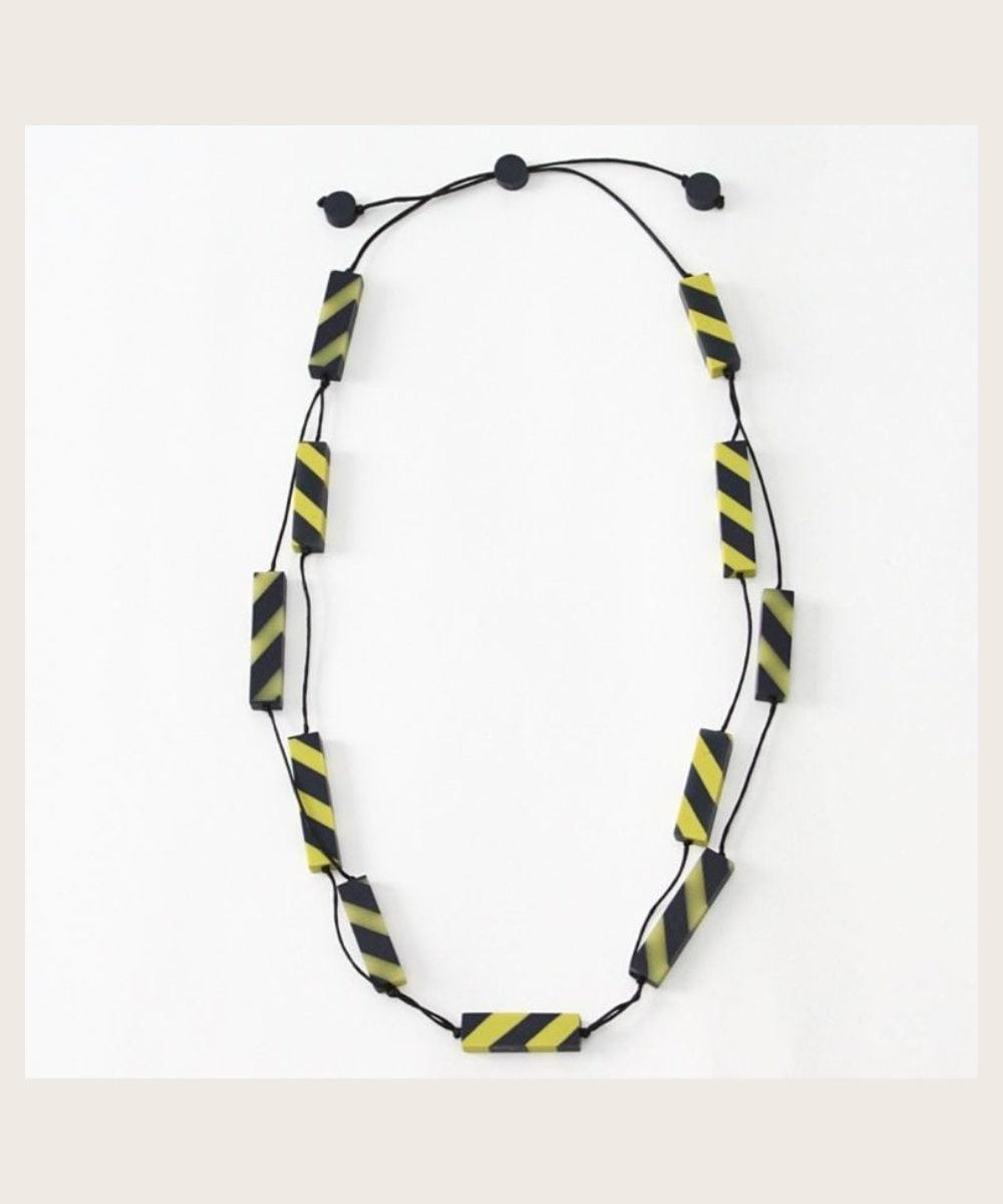 Lime & Navy Elisa Necklace