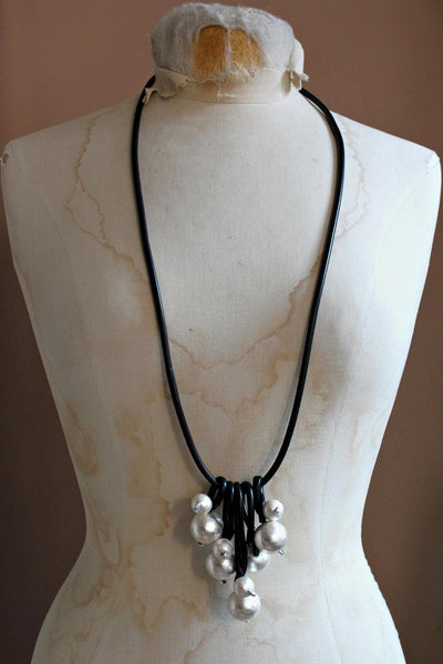 Convertible Necklace with Baubles