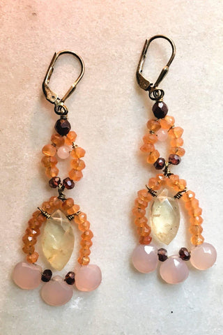 Two Tiered Earrings
