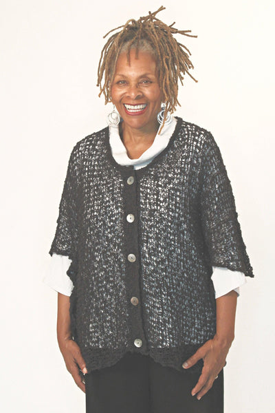 Women's Button Cardigan Loose Fit