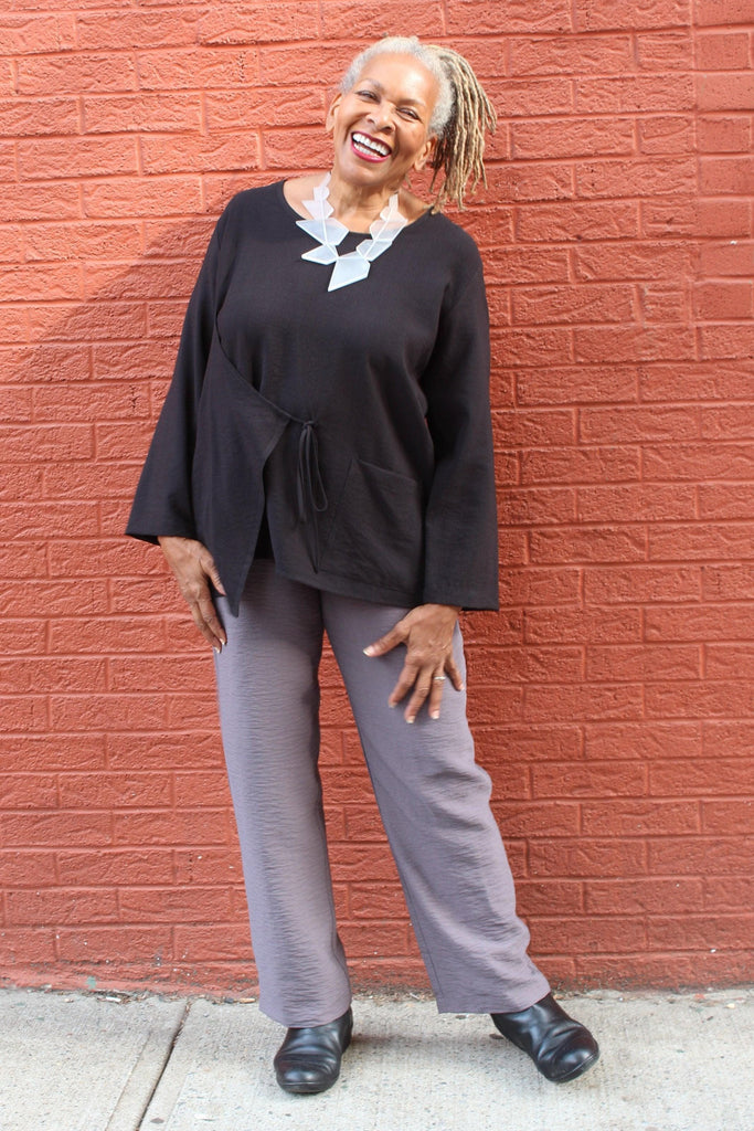 Simply Simple Straight Pant - Marjory Warren Boutique