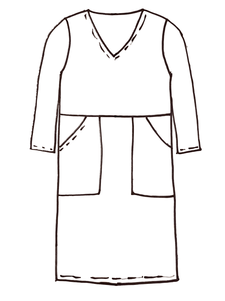 Line Drawing Christy Dress