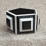 Graphic Resin Bracelet - Marjory Warren Boutique
