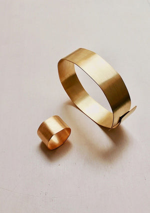 `Flawless´ Fairtrade gold bracelet