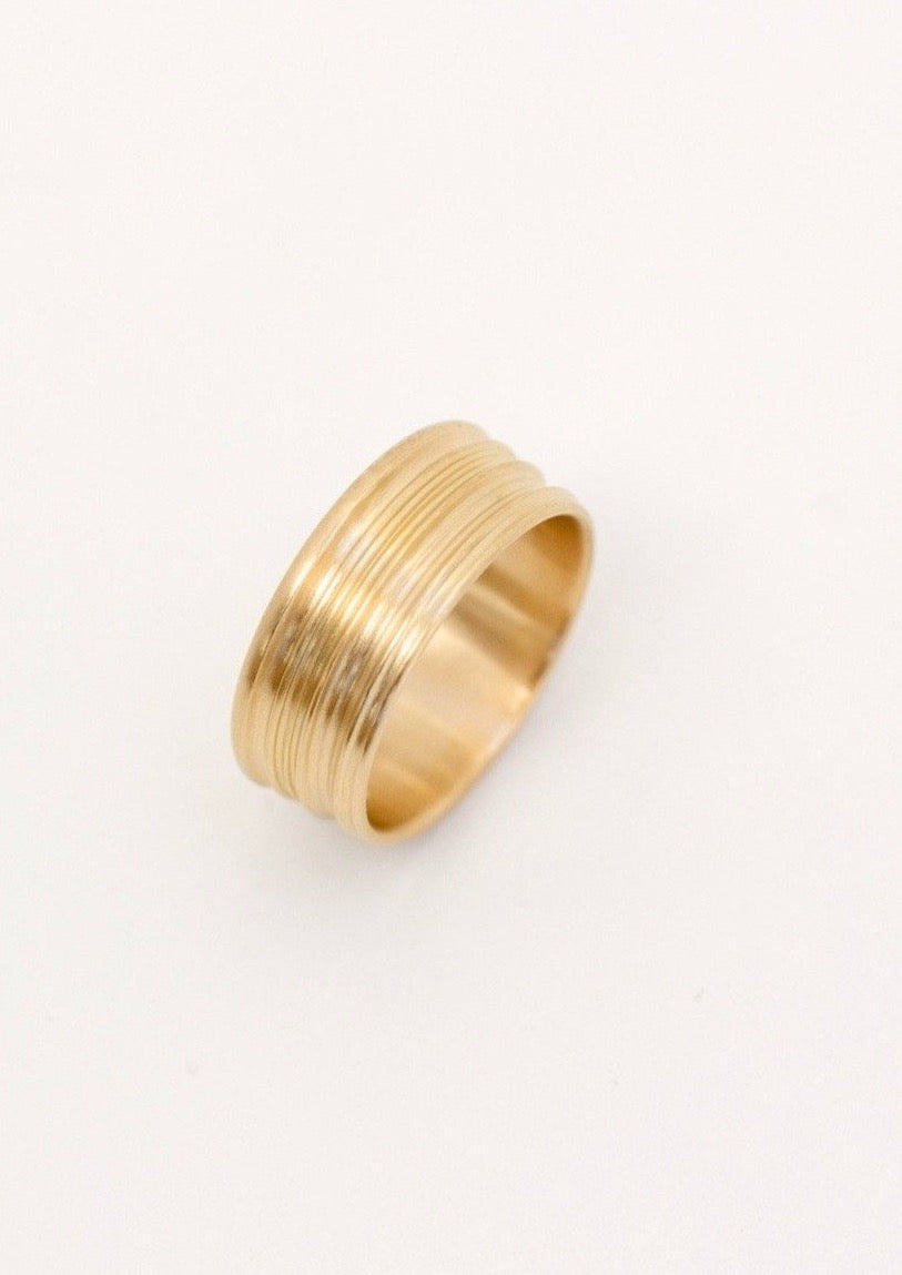 'Gericht No. 1' Fairtrade Gold Ring