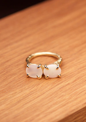 'Divided in Two'  Fairtrade Gold Ring