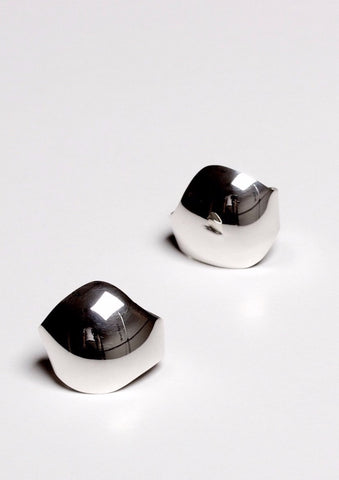 'Mirror' Pair of Fairtrade Silver Ear Cuffs