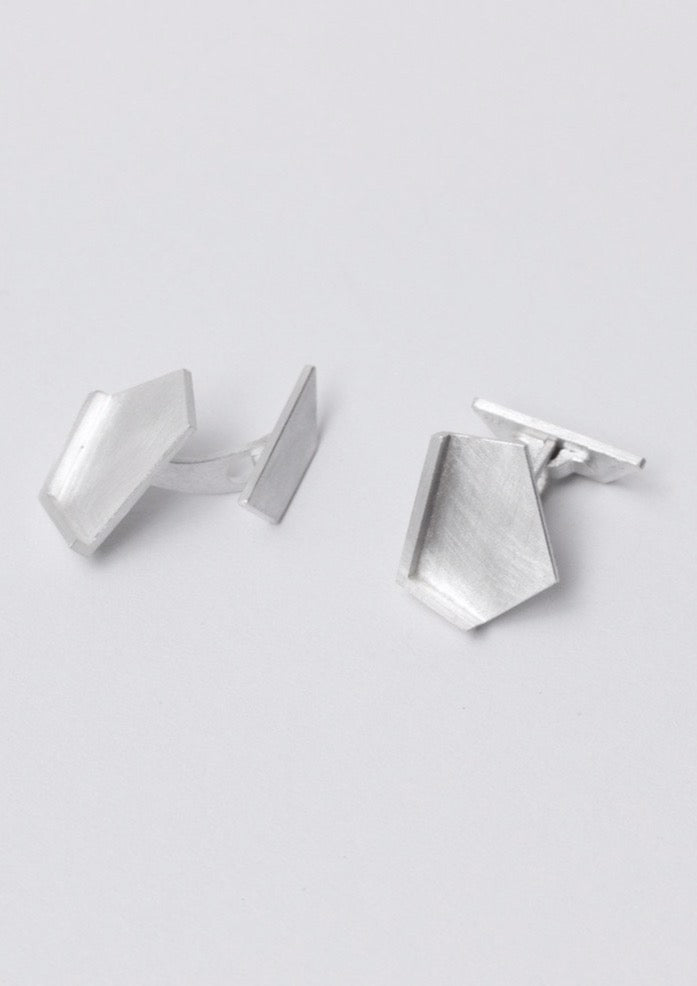 'Hidden Place' Fairtrade Silver Cufflinks
