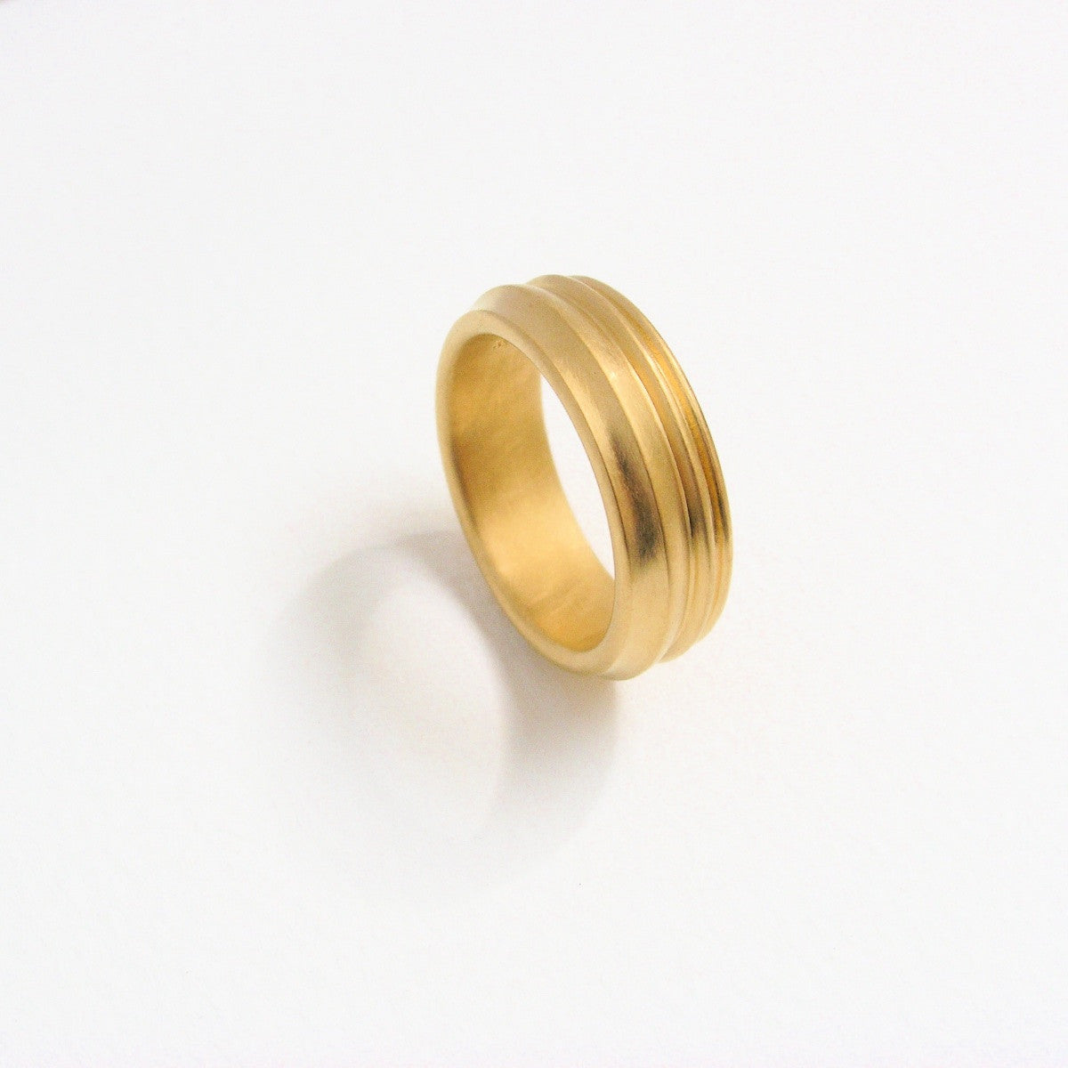 'Gericht' Fairtrade Gold Ring