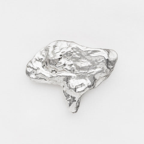 'When You Wake up' Silver Brooch