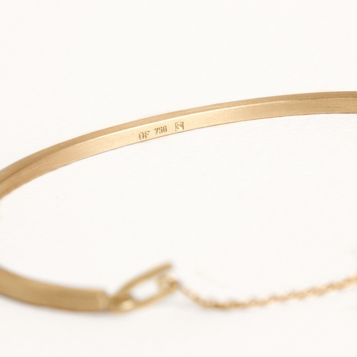 'Kvadrat' Bracelet 18 kt Fairtrade Gold