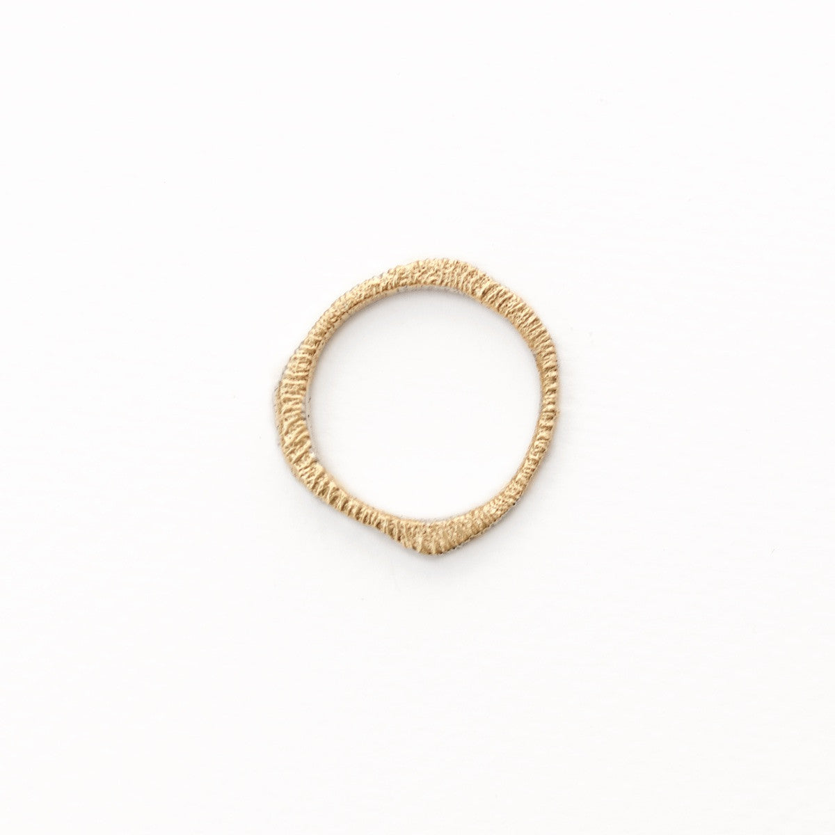 'Woodring No. 2' Fairtrade Gold Ring