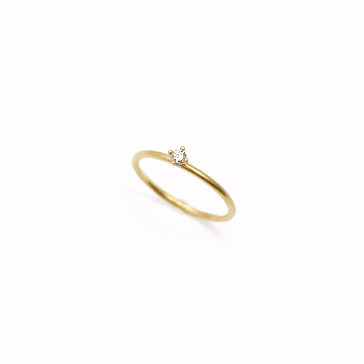 'Sakura 0,05 ct' Fairtrade Gold Diamond Ring