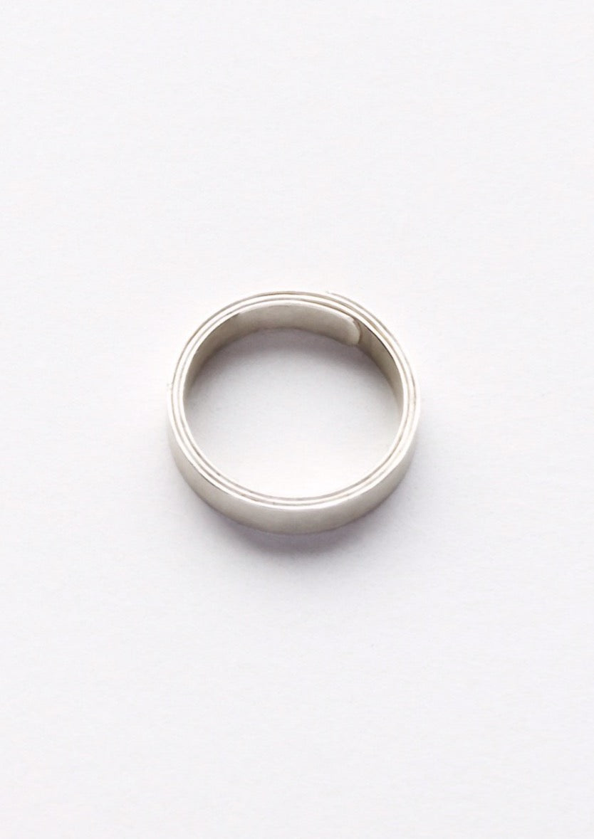 'Papyrus' Unisex Fairtrade Silver Ring