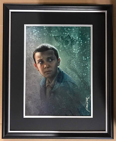 "Jason Palmer Print - Millie Bobby Brown - Stranger Things  ""Eleven"""