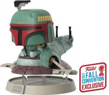 NYCC 2017 POP Vinyl - Star Wars - Boba Fett with Slave One Pop! Deluxe