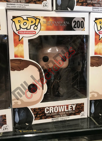 Crowley Blood Splatted (200) POP - Mark Sheppard