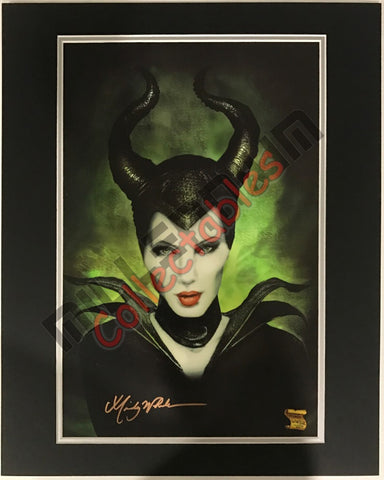 Artist Autographed Print - Mindy Wheeler - Malificent