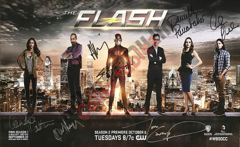 SDCC 2015 Exclusive Autographed Poster - The Flash again