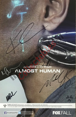 SDCC 2013 Exclusive Autographed Poster - Almost Human