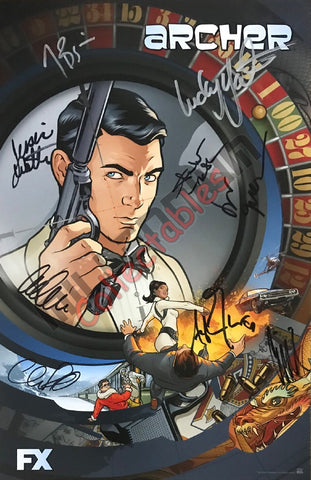 SDCC 2015 Exclusive Autographed Poster - Archer