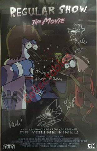 Regular Show Cast Signing NYCC 2015 Exclusive #2/2