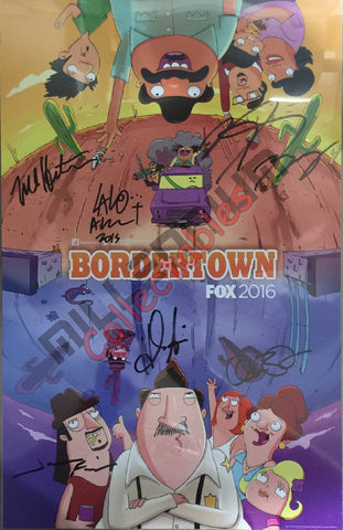 Bordertown Cast Signing NYCC 2015 Exclusive #1/2