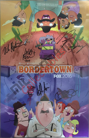 Bordertown Cast Signing NYCC 2015 Exclusive #2/2
