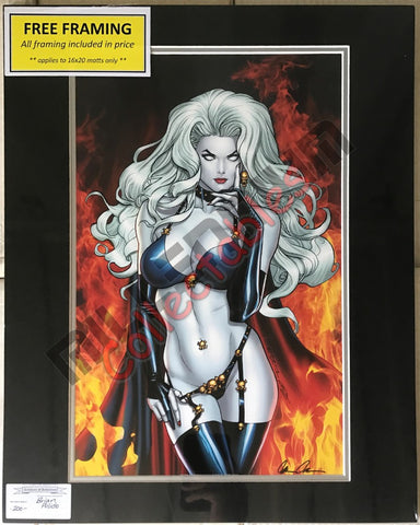 Artist Autographed Print - Brian Pulido - Lady Death -