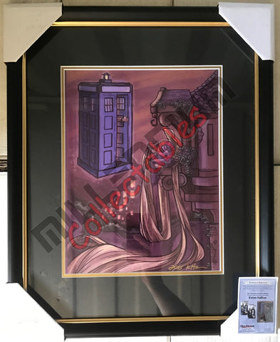 NYCC 2015 Exclusive Autographed Print - Karen Hallion - Tangled Doctor