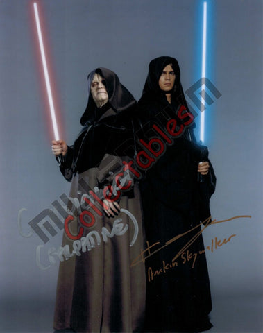 Ian McDiarmid & Hayden Christensen - Star Wars - Revenge of the Sith Duo